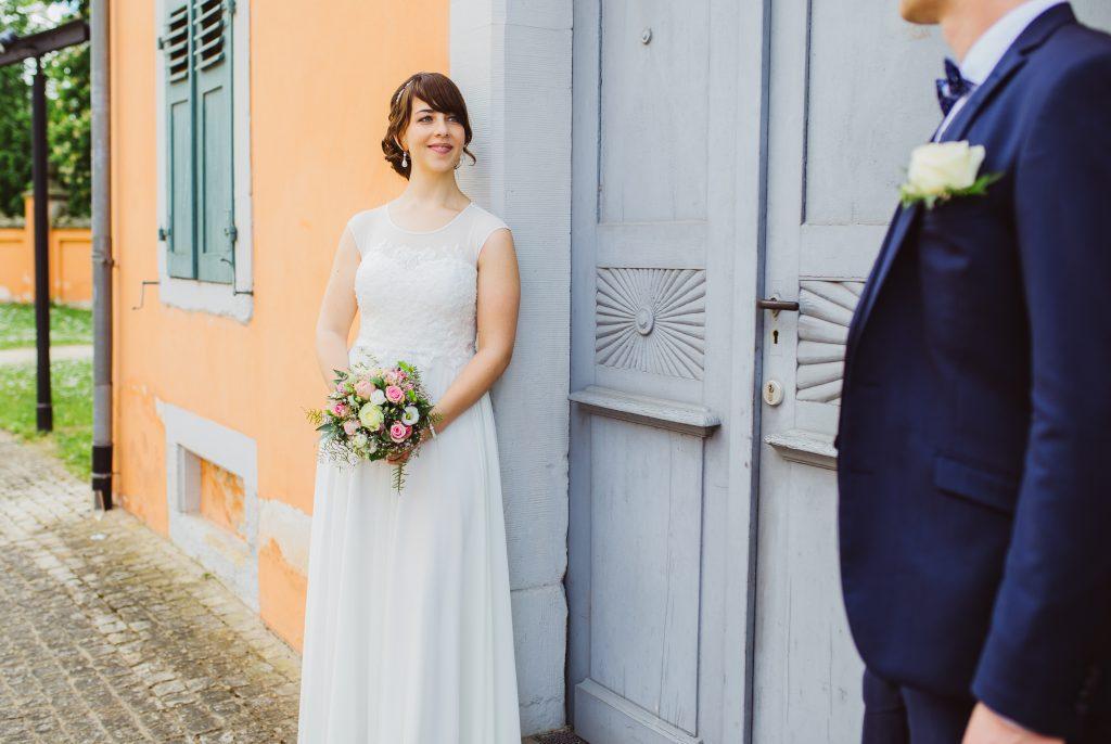 Brautpaar Hochzeitsfotografie Hochzeitsfoto Eremitage Waghäusel
